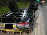 Lamborghini beschlagnahmt, weil der Besitzer MRB nicht bezahlt hat