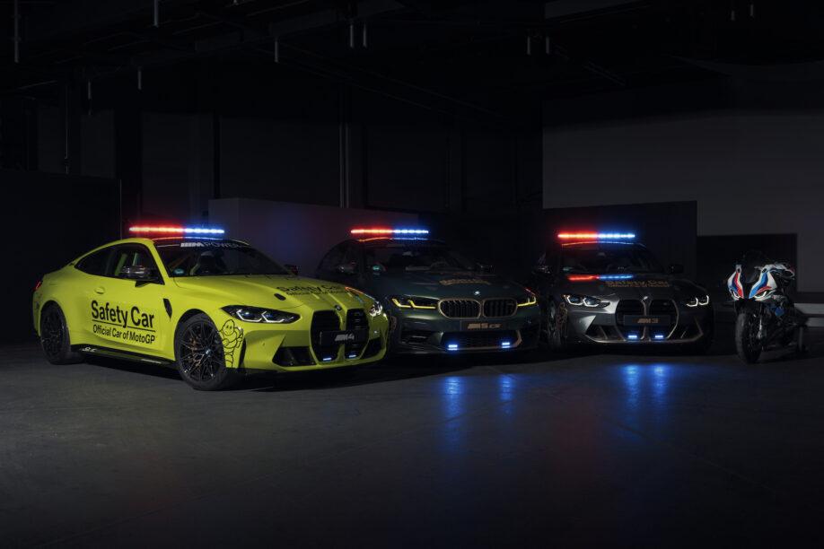 BMW M präsentiert eine Menge neuer MotoGP-Safety-Cars