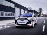 Schauen Sie jetzt, es ist der Audi Q4 e-tron!